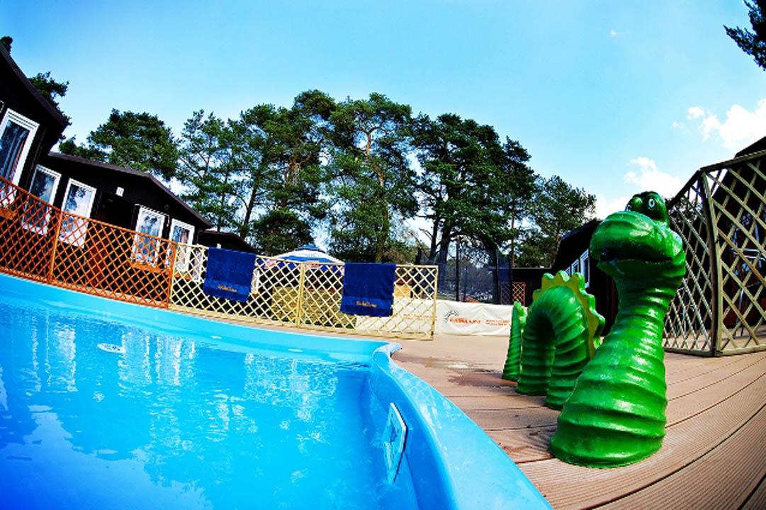 basen dla dzieci dziwnówek