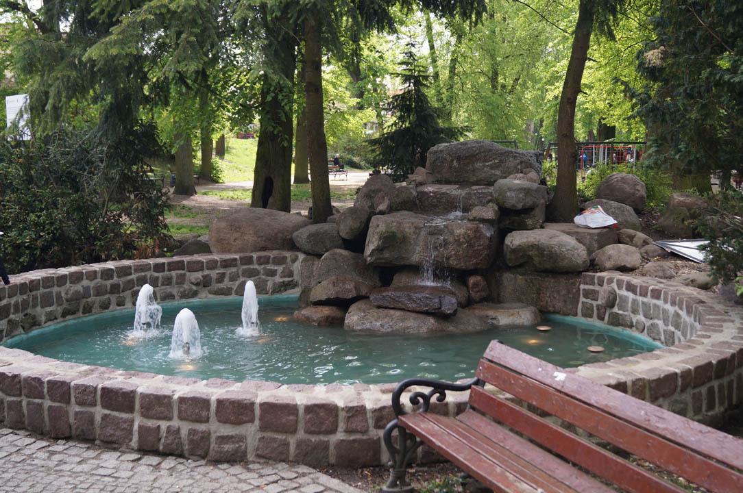 Fontanna ogrodowa Szczecin