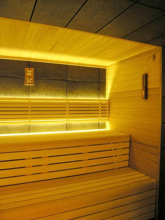 Sucha fińska sauna