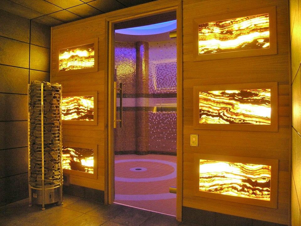 Duża sucha sauna typu BIO