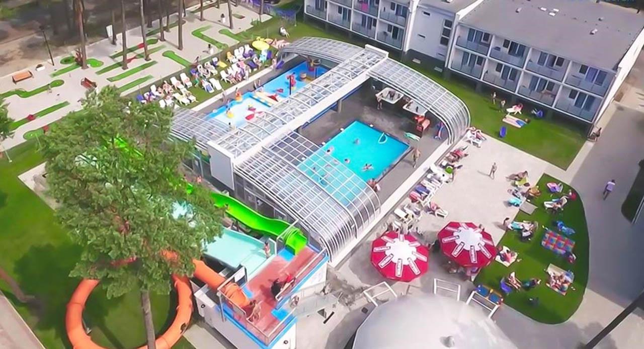 zadaszenie basenu w Pogorzelicy